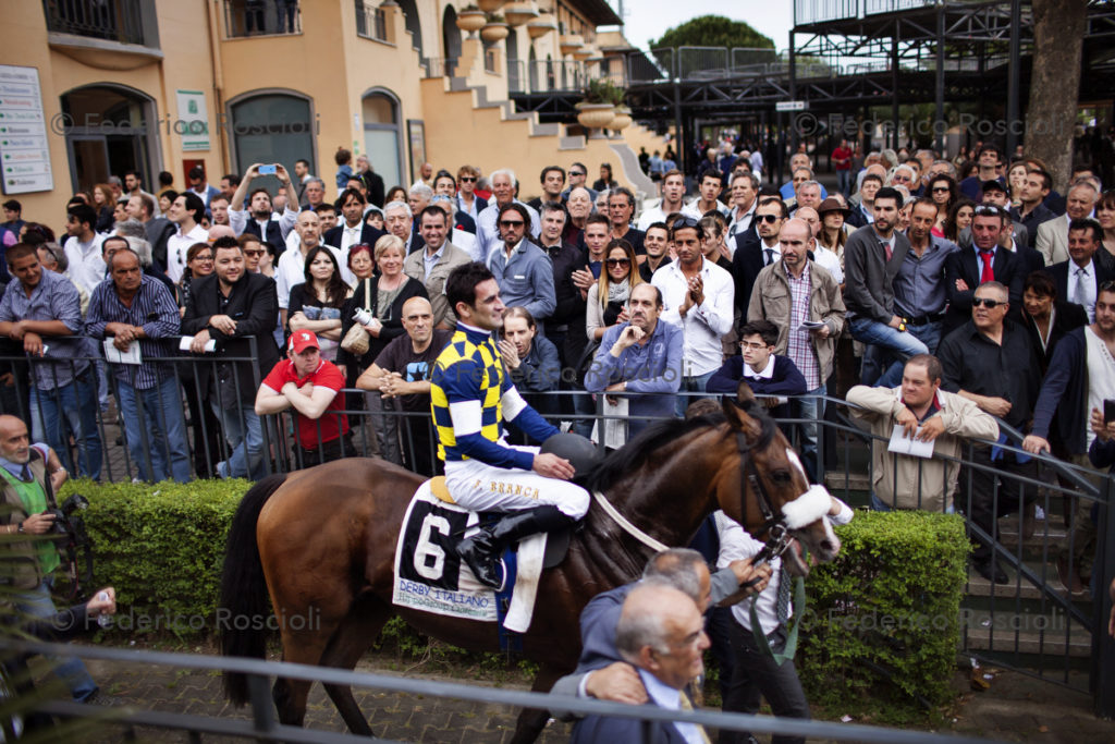 Rome, Italy. May 18, 2014. Derby day in Capannelle.